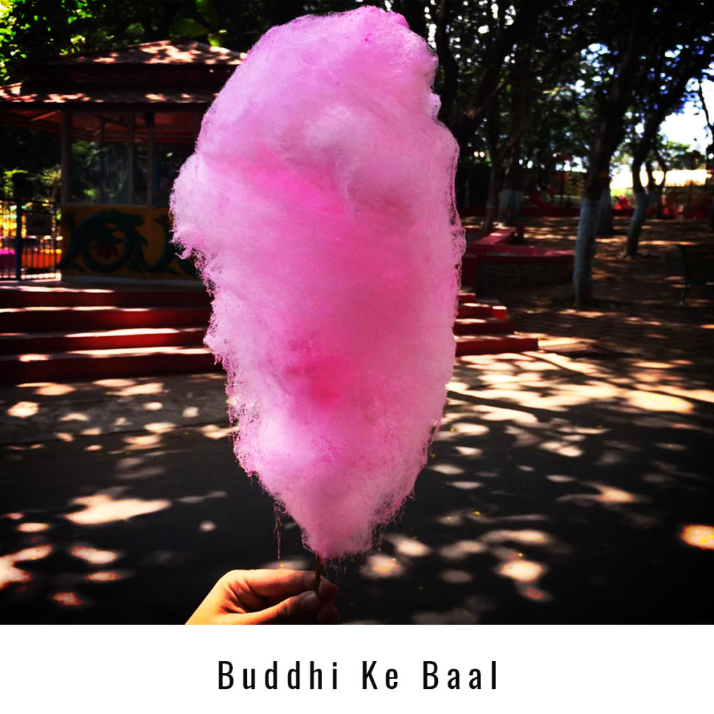 Cotton Candy, a delicacy still popular.