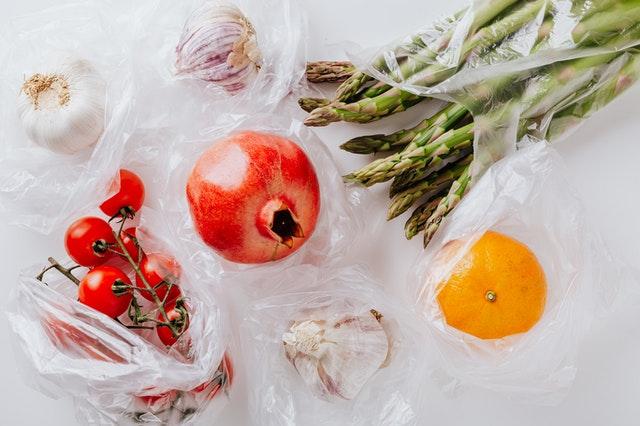 Plastic bags are non recyclable.