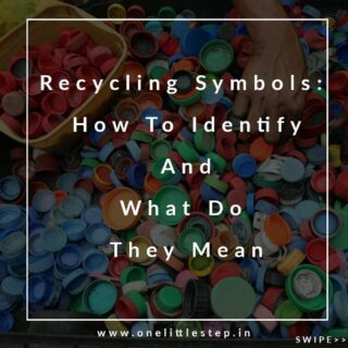 When you reuse plastic items, do you ever give a thought if they are safe to use?  . All plastic containers and bottles are marked with one of these symbols that determine their type. ♻️ . Here's a guide to identify them. Read full story on the website. Link in the bio.⬆️ . . . . . . . . . . #gogreen #sustainableliving #reduce #reuse #recycle #eco #ecofriendly #plastic #saynotoplastic #like #follow #instagram #onelittlestep #blog #India #plasticpollution